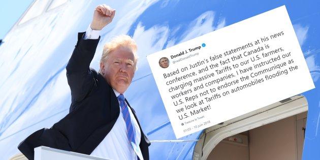 """""""Soyons sérieux et digne de nos peuples"""" : la réaction cinglante de l'Élysée à la volte-face de Trump lors du sommet du G7"""