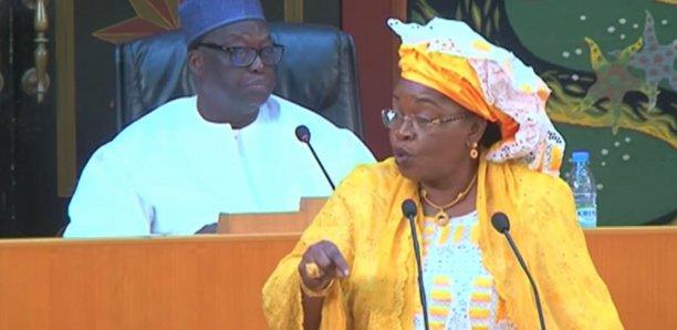 Assemblée Nationale: Aida Mbodji tacle le ministre de l'intérieur