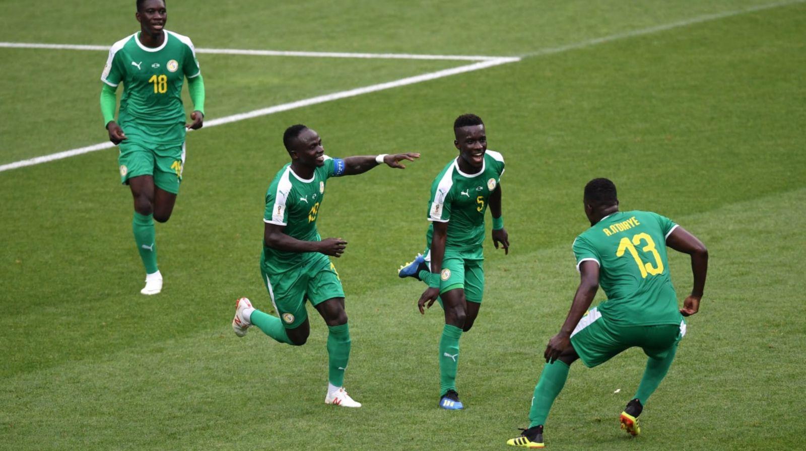 Mondial 2018: Le Sénégal bat la Pologne par 02 buts à 01