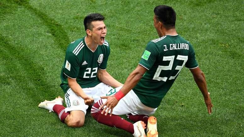 Coupe du Monde: Lozano et le Mexique font chuter le tenant du titre