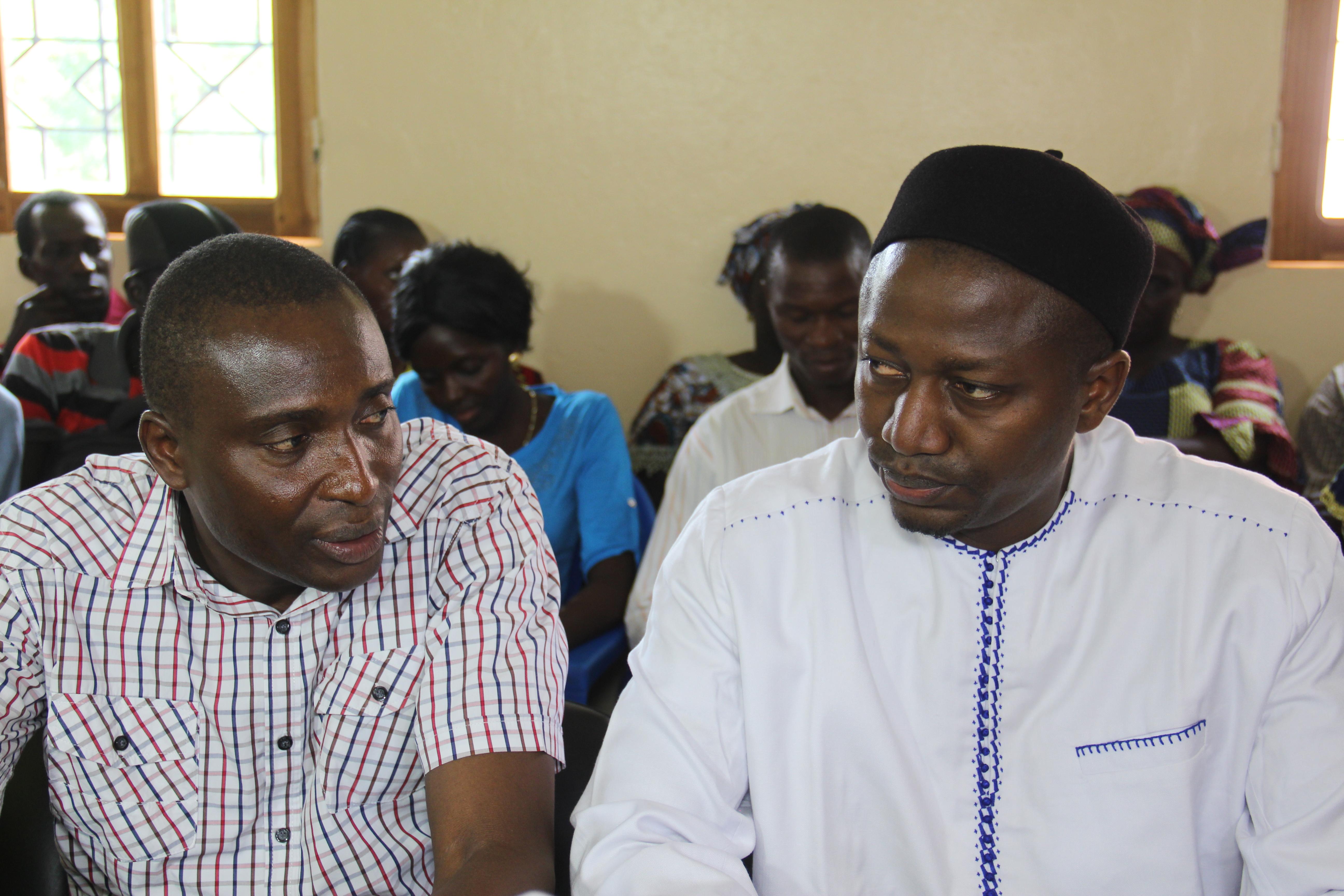 Politique: Tombon GUEYE et Sény DIATTA lachent Abdoulaye BALDE