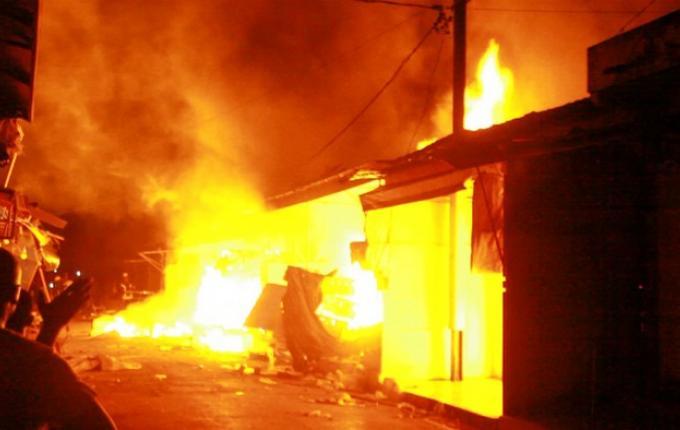 Urgent: Le marché Tilène de Ziguinchor réduit en cendre