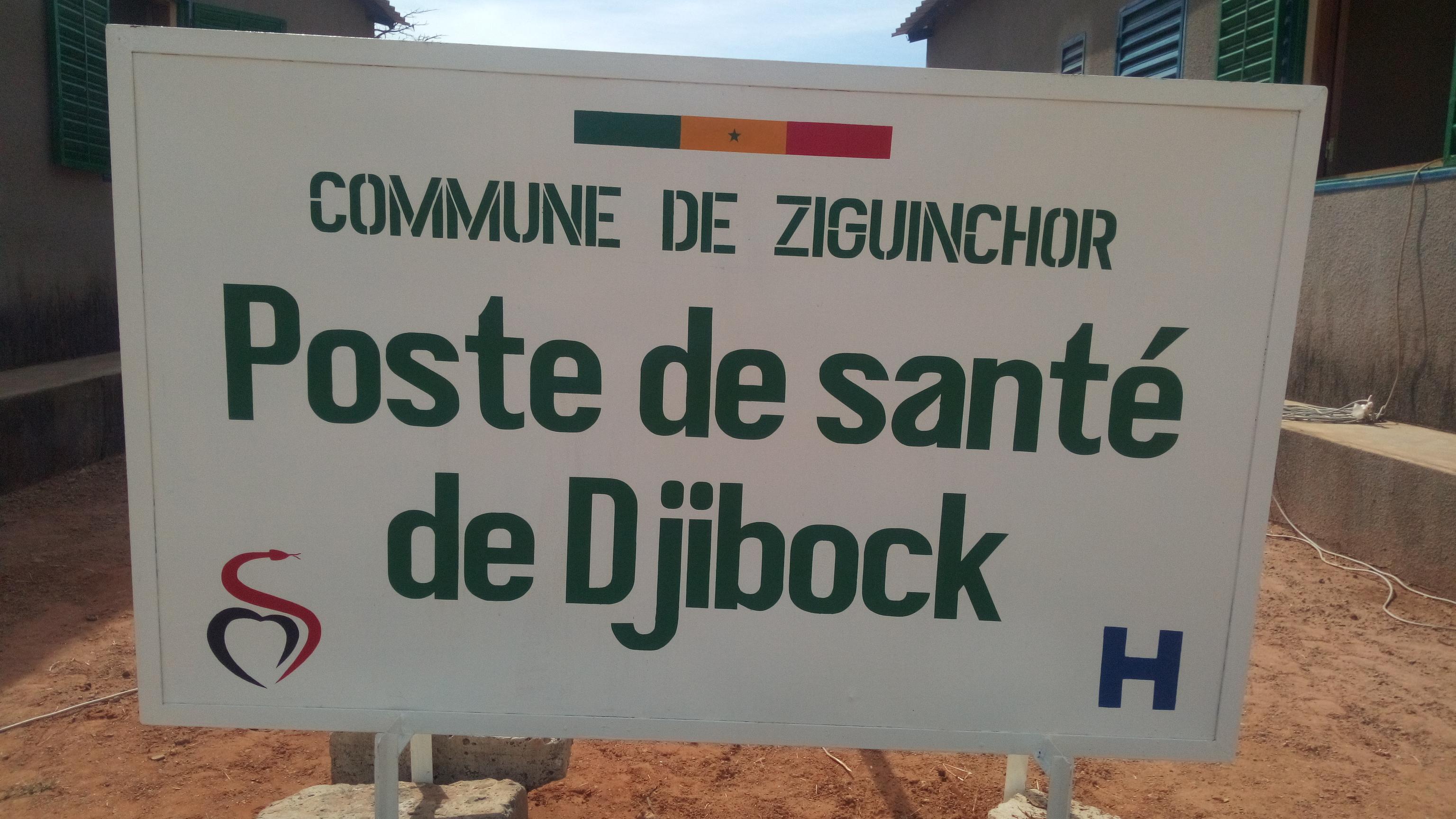 Ziguinchor: Djibock tient son poste de santé (Photos)