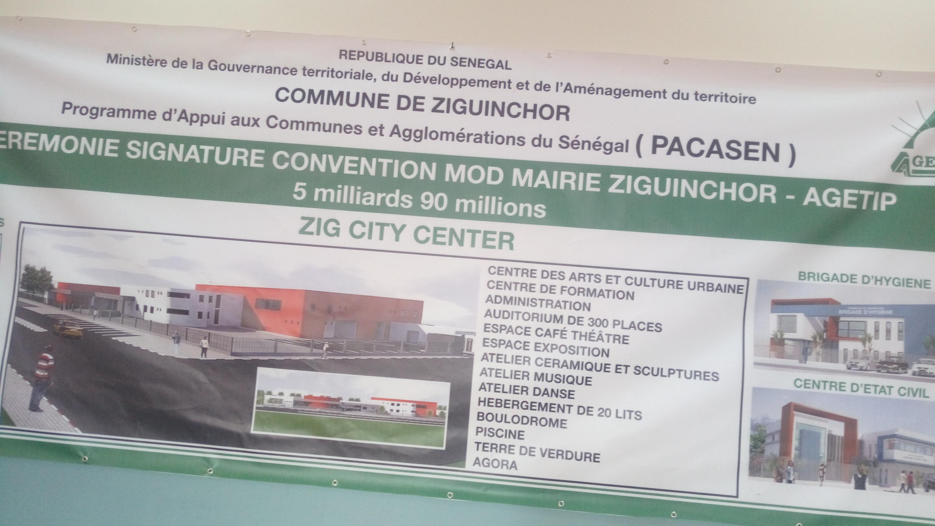 Rapprochement Baldé avec le Pouvoir, la ville de Ziguinchor en marche