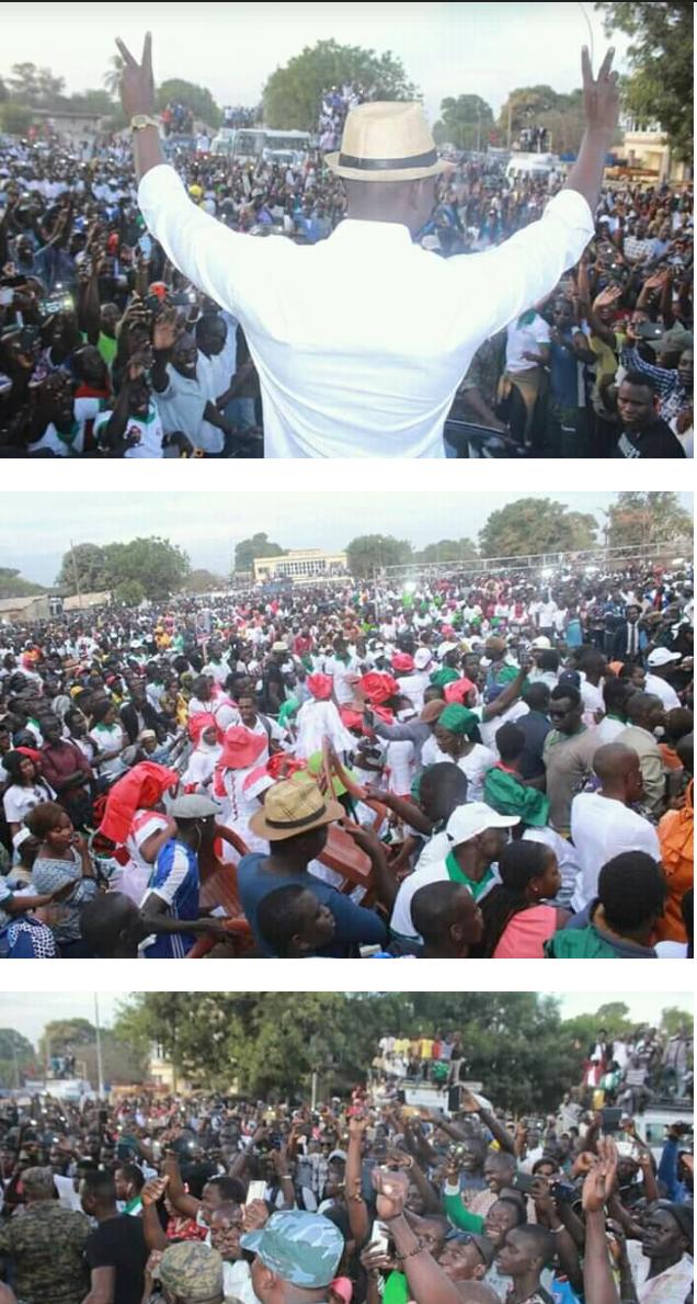 Le planning de Campagne du candidat Ousmane Sonko