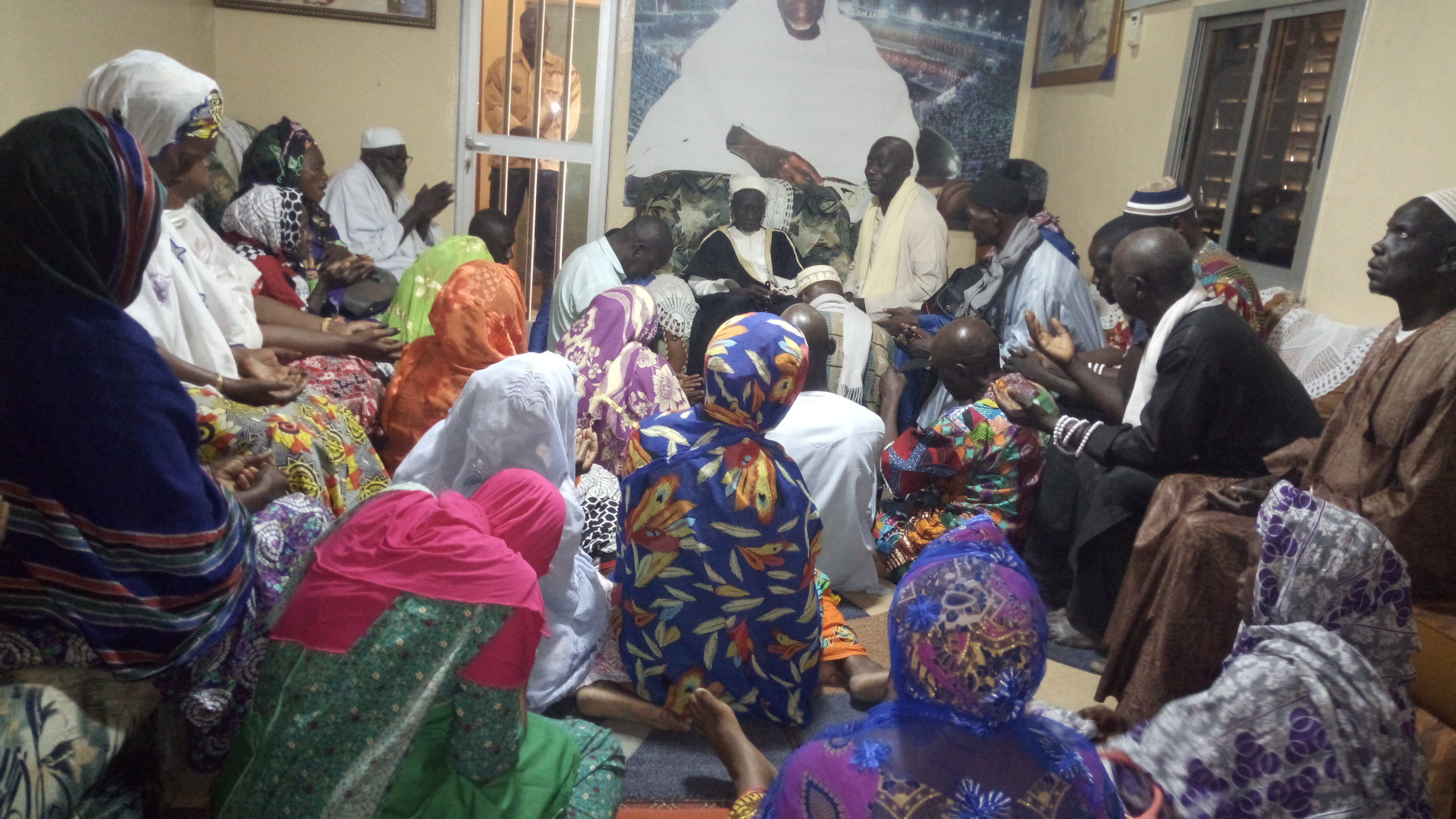 Gamou de Bignona, le Cheikh reçoit les fideles (photos)