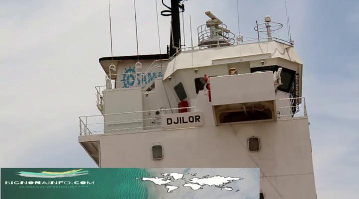 """Découvrez le Nouveau Bateau le """"Djilor"""" arrivé au port de Ziguinchor"""