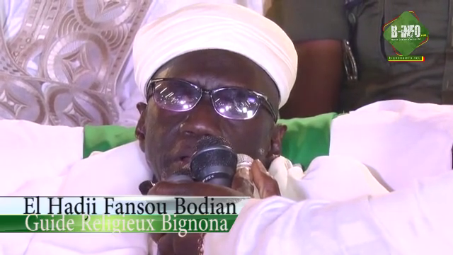 Bignona: El Hadji Fansou Bodian suspend la prière du vendredi