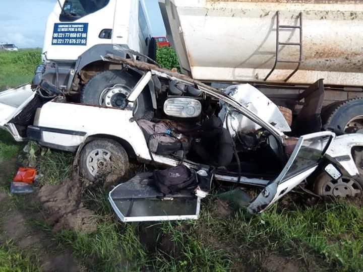Kaléane: Une collision fait 06 morts sur place