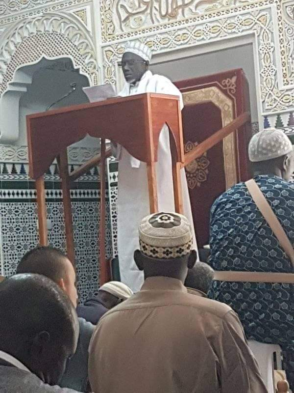 Espagne: El Hadji Fansou Bodian a dirigé la prière de vendredi à la la grande mosquée de Mataro