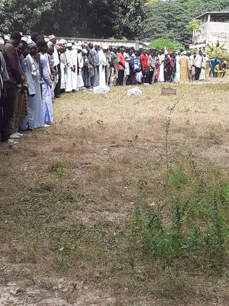 Abdou Elinkine Diatta et les deux autres inhumés à Mlomp