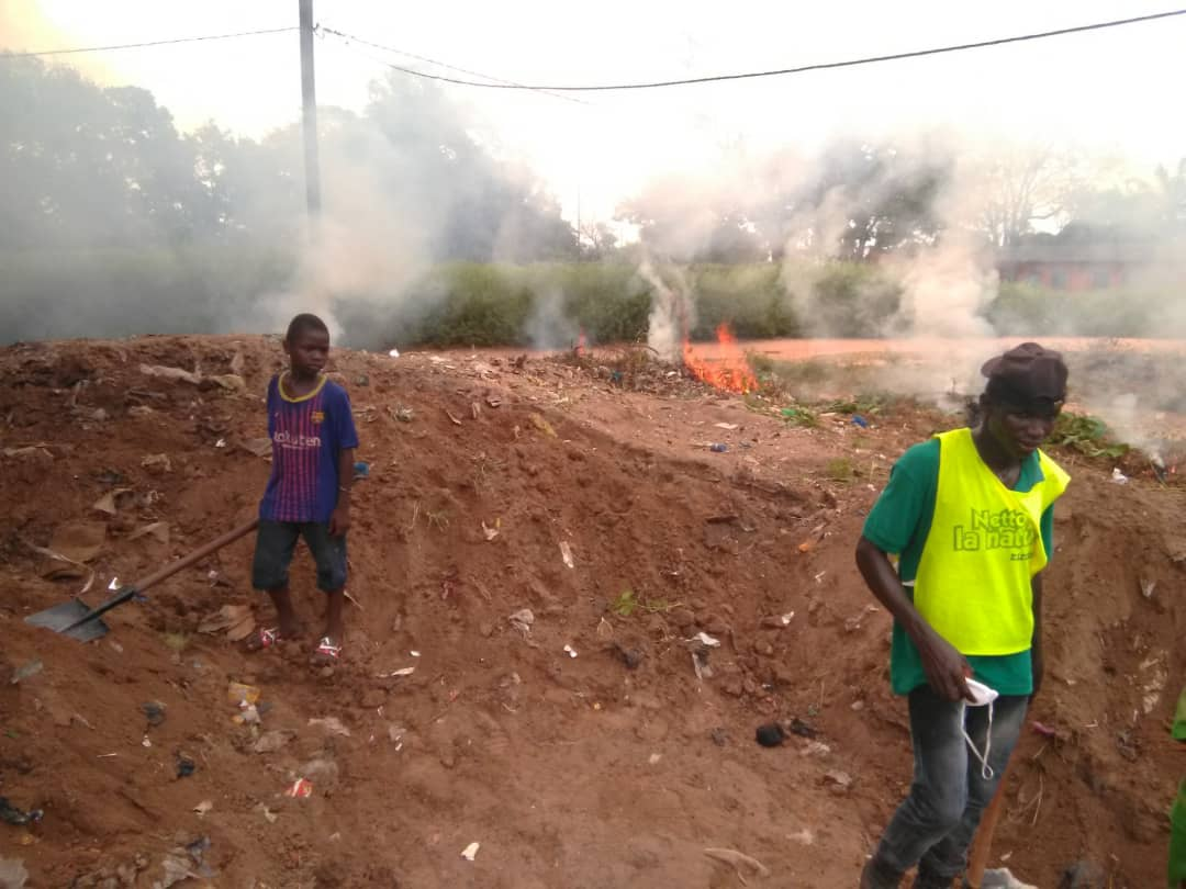 Bignona: Kadiamor en action écrase un tas d'ordures vieux de plus de trente ans