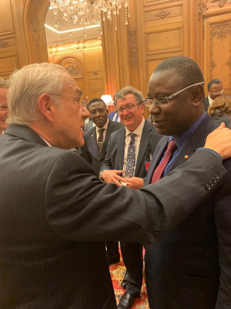 Paris: Mamadou Lamine Kéita représente le Sénégal à la rencontre de l'OCDE