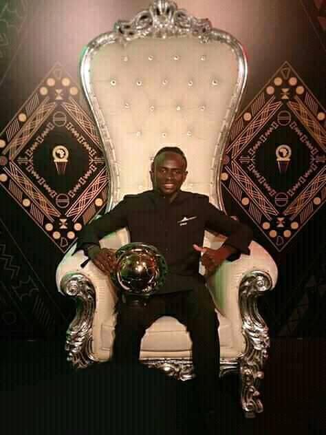Mané, nouveau roi d'Afrique