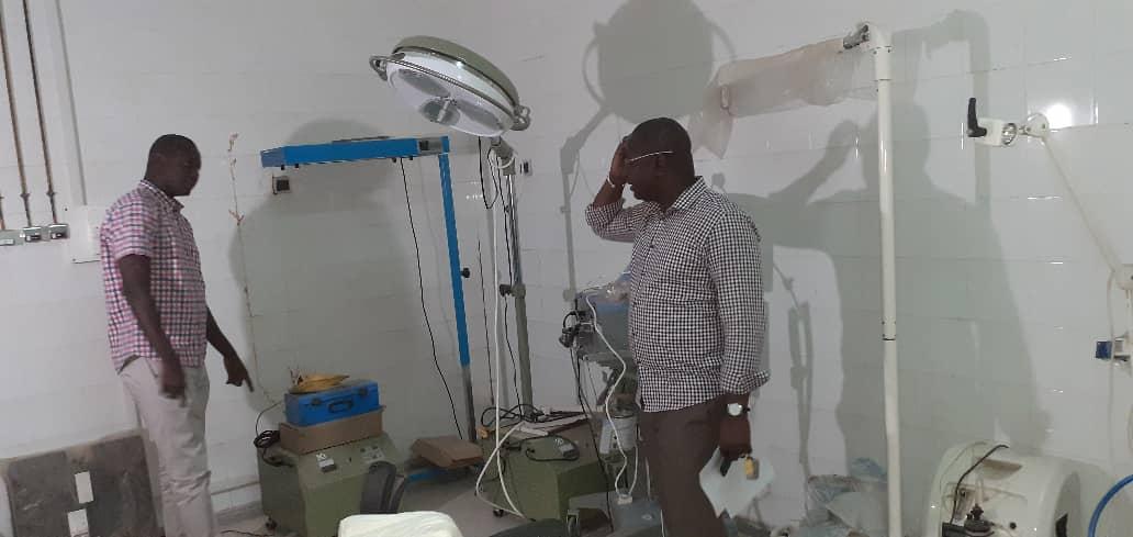 Bignona: Le bloc opératoire du district sanitaire bientôt fonctionnel