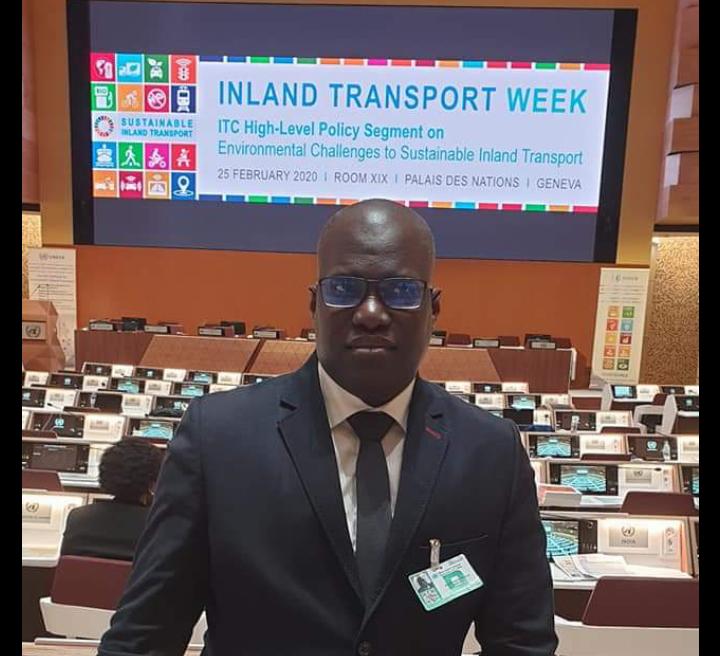 82ème session du comité des transports intérieurs de l'ONU, Aubin Sagna représente le Sénégal à Genève