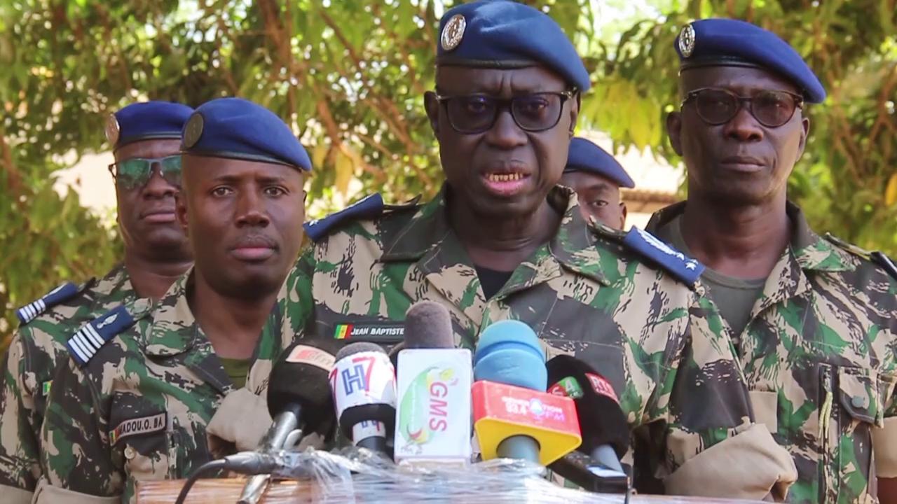 Ziguinchor: Le  Général Tine de la Gendarmerie nationale invite ses hommes au respect  des droits de l'homme