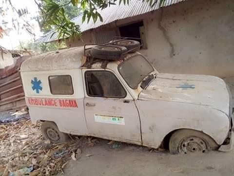 L'ambulance du village en panne, le cri de détresse d'un enfant de Bagaya