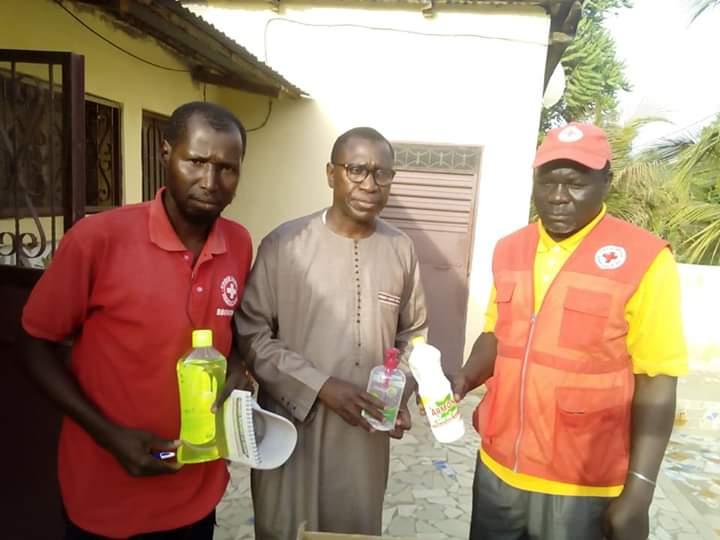 Bignona: Mamina Kamara renforce le dispositif de la Croix-Rouge