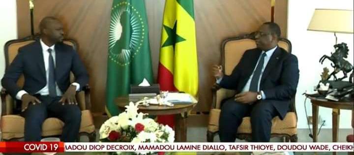 Palais de la république: Les images de la rencontre entre le président Sall et l'opposition