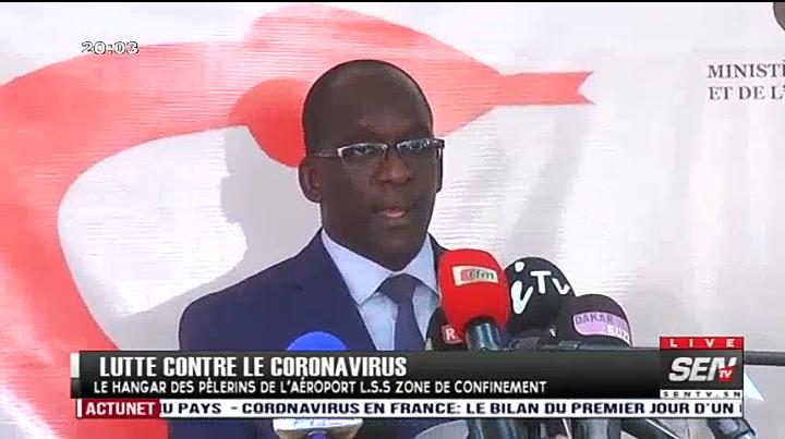 Covid-19: Deux nouveaux cas confirmés au Sénégal