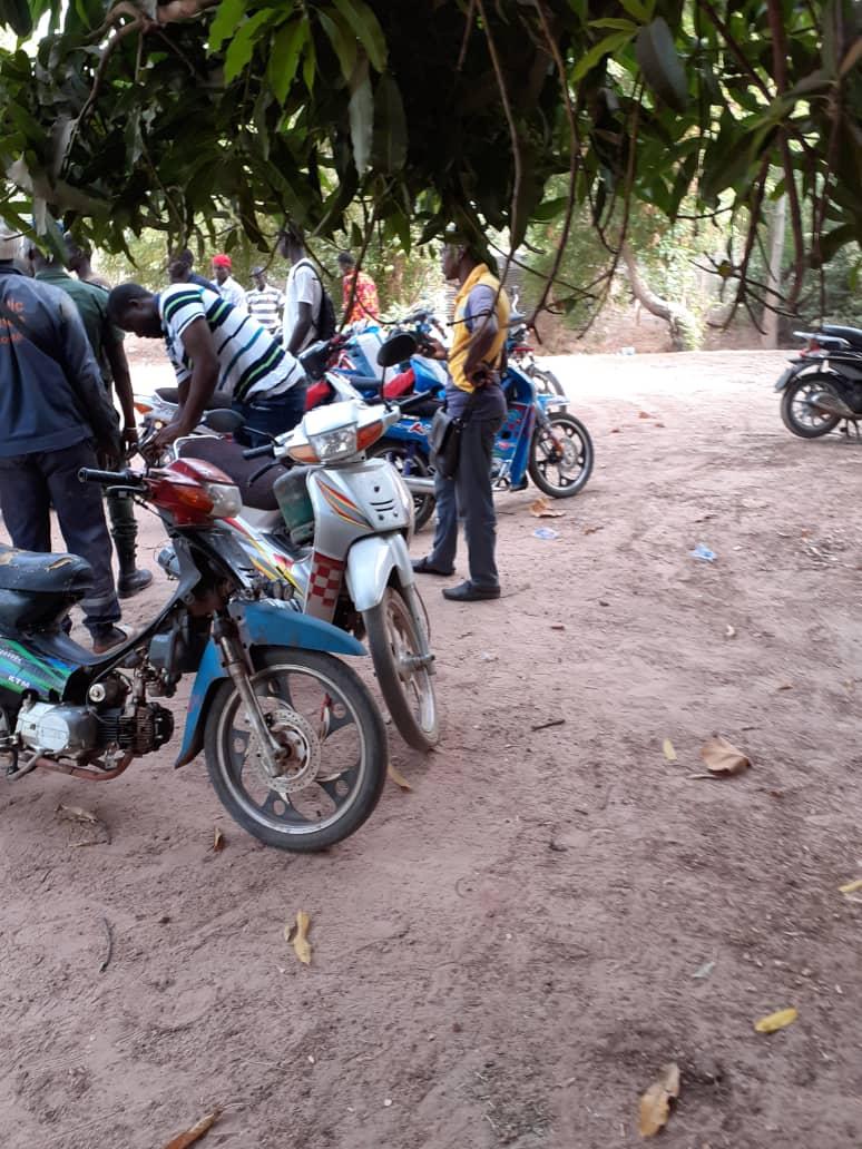 Bignona: Les jakartas interdits de transport. Plusieurs motos mis en fourrière