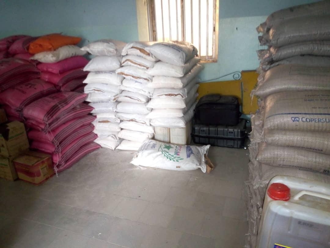 Sindian: La Douane saisie des tonnes de sucre, riz, farine et de diverses marchandises