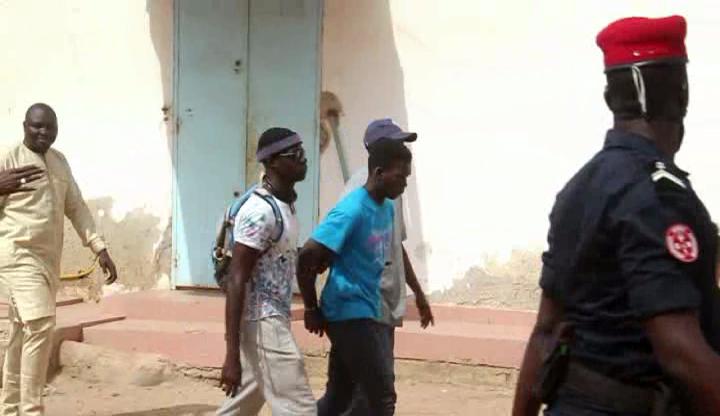 Ziguinchor: Le film de l'arrestation du présumé cambrioleur (Vidéo)