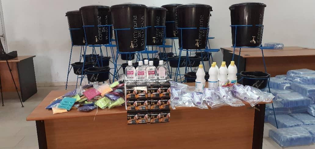 BIGNONA: Du matériel contre le corona dans toutes les écoles