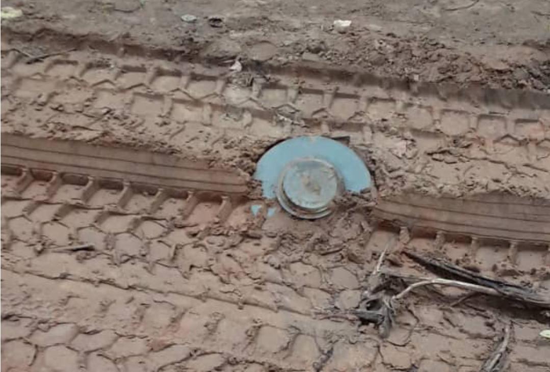 Urgent: Une mine anti char découverte à Mandina Mancagne