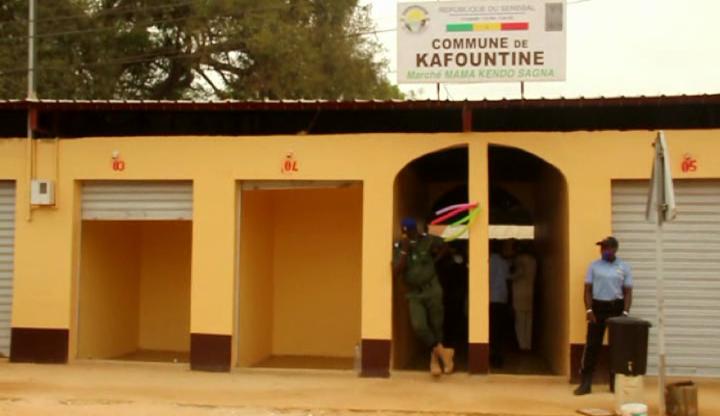 KAFOUNTINE: Les images du nouveau marché réalisé sur fonds propres (Vidéo)