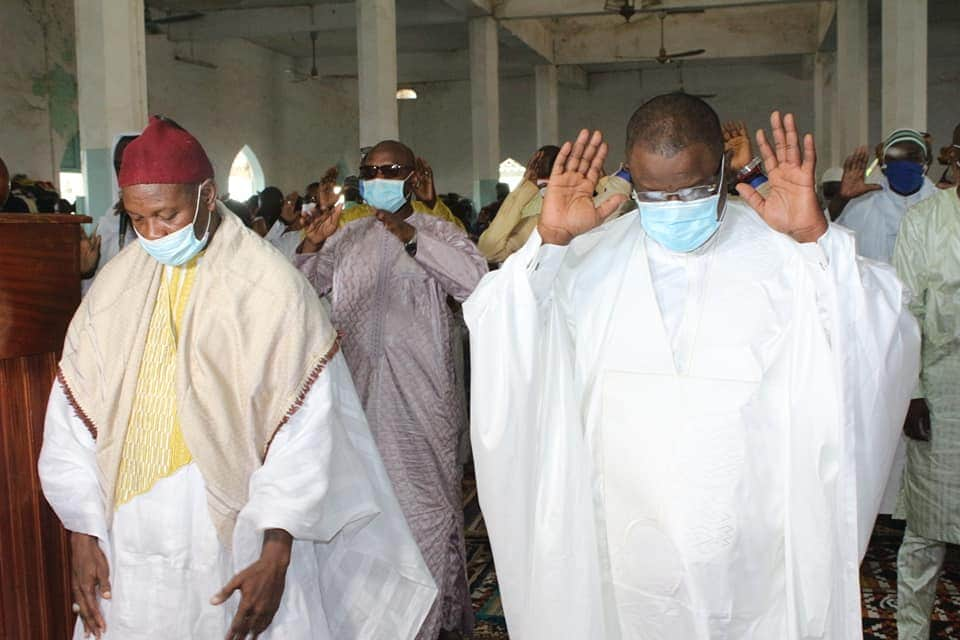 Réhabilitation de la grande mosquée de Ziguinchor, Baldé annonce 100 millions CFA