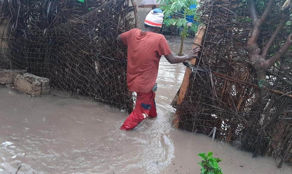 Inondations au Cap-skiring, plusieurs maisons envahies par les eaux de pluie