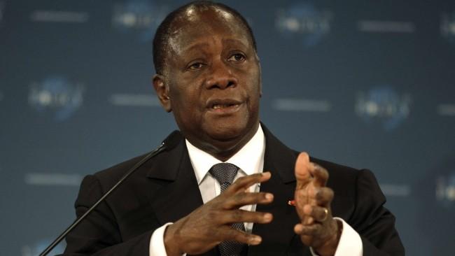 Côte d'Ivoire: le président Alassane Ouattara investi candidat à la présidentielle d'octobre