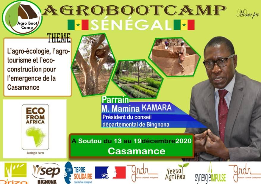 Mamina Kamara, parrain de l'AgroBootCamp