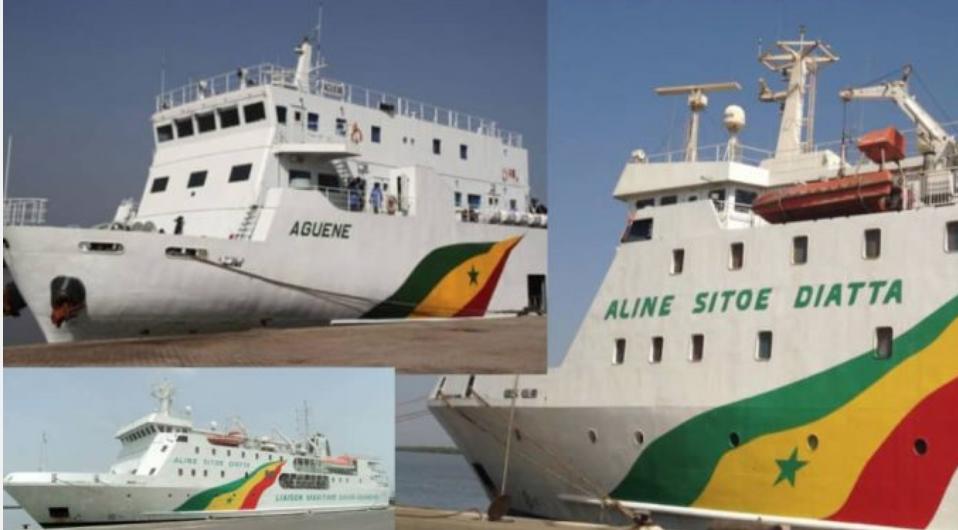 """Liaison maritime Dakar-Ziguinchor: Le bateau """"Aline Diatta"""" est en état de vétusté très avancé…Le Cosama n'a plus d'argent…"""
