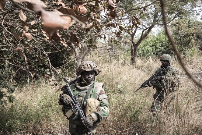 Bignona : L'armée brûle un poste de contrôle des rebelles du mfdc