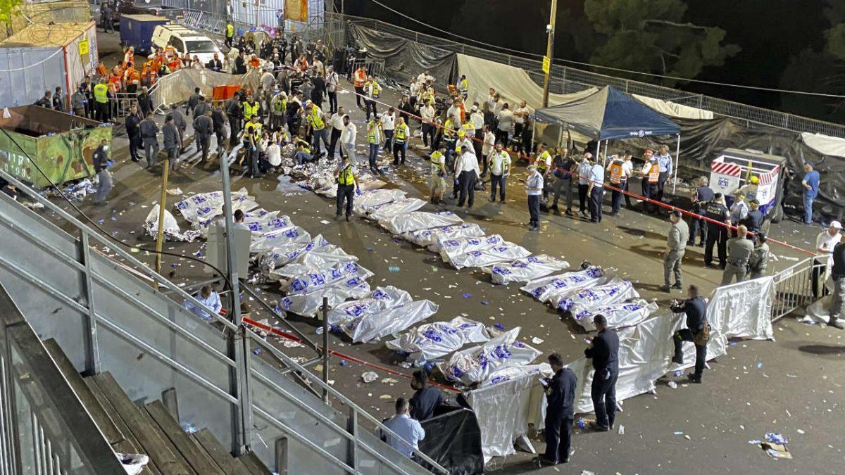 Drame en Israël: Une bousculade fait au moins 44 morts dans un pèlerinage juif