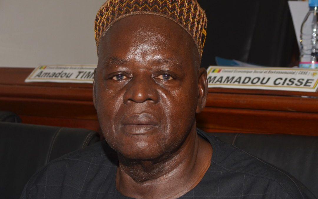Urgent: Le CESE en deuil. L'honorable Sadio Danfakha s'est éteint