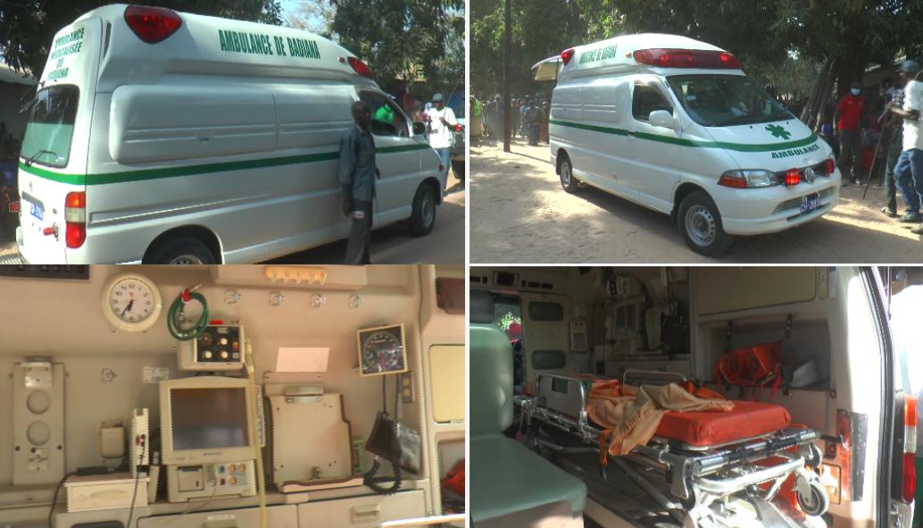 Santé: Badiana réceptionne son ambulance médicalisée toute neuve