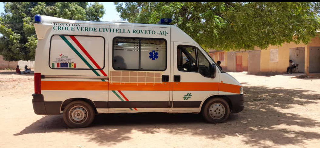 Santé: Sindian réceptionne son ambulance corbillard