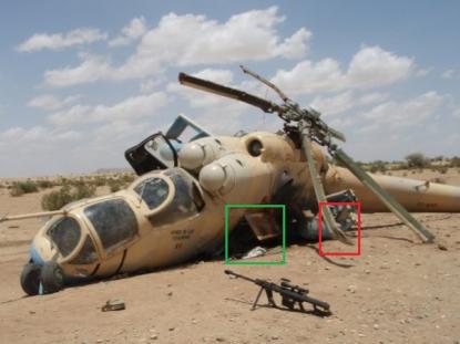 TCHAD: Les rebelles attaquent un hélicoptère de l'armée