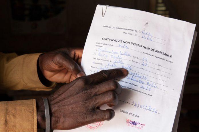 Kaffrine: Plus de 41 000 élèves sans pièce d'état civil