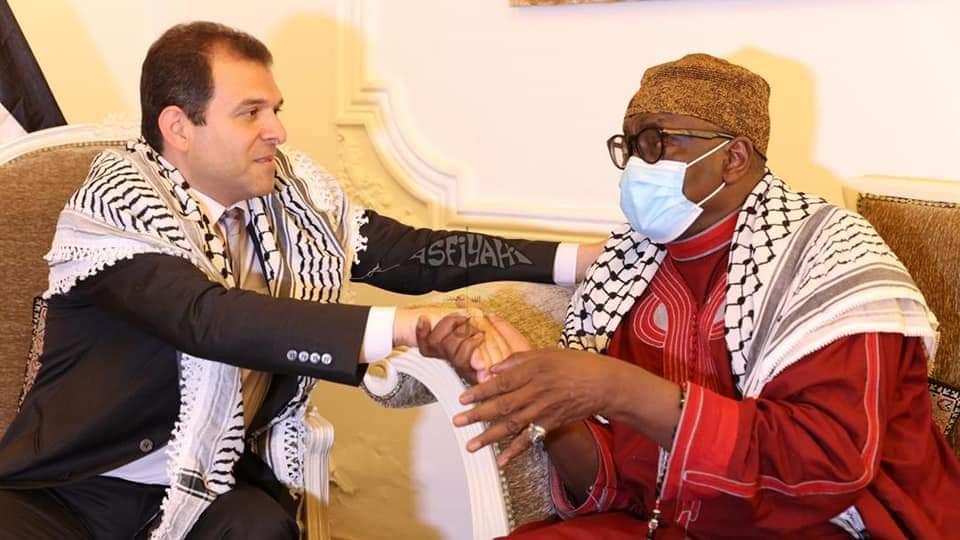 SOUTIEN DE TIVAOUANE À LA PALESTINE: Une délégation du khalife général des tidianes reçue par l'ambassadeur Safwat Ibraghith