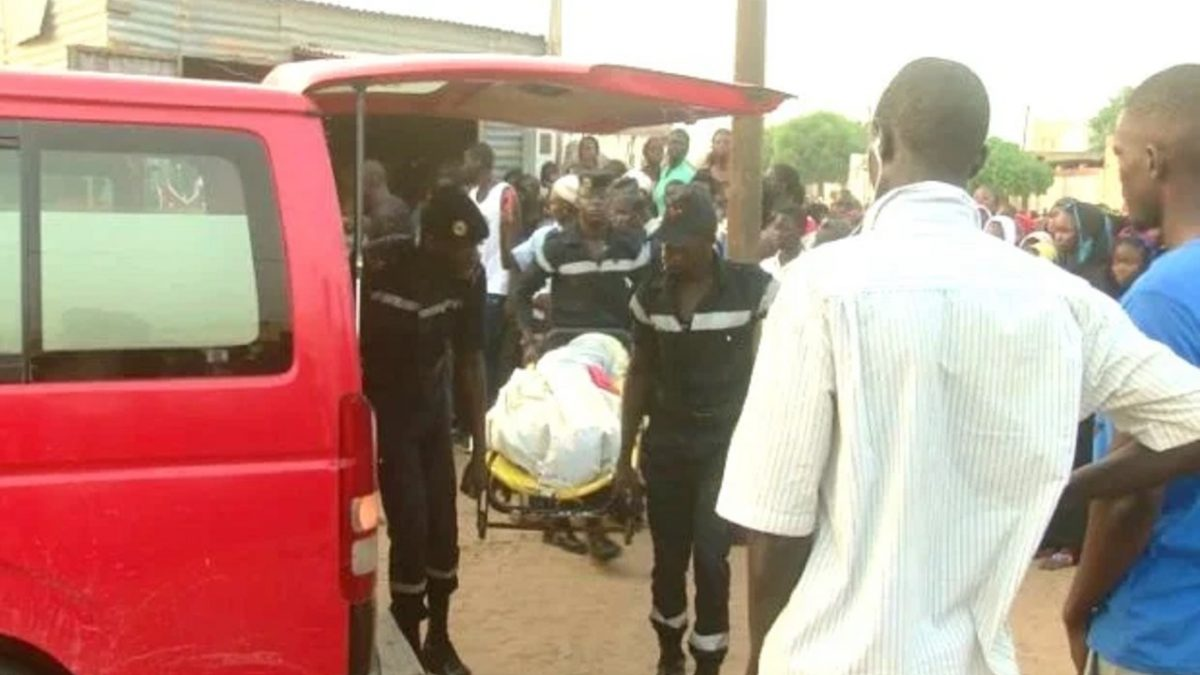 Accident à Kaolack : 10 victimes dont 3 morts et 7 blessés enregistrés