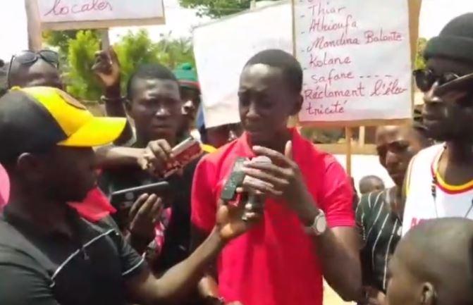 Goudomp: Des jeunes réclament une couverture d'électricité pour les 41 villages de la commune de Simbandi Balante