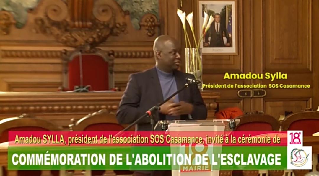 Paris: Commémoration de l'abolition de l'esclavage, l'intervention d'Amadou Sylla (Vidéo)