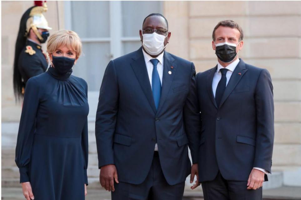 Paris: Macky en toute complicité avec Macron