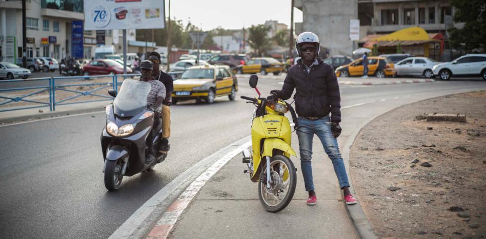 Au Sénégal, un reporter-GPS dans les embouteillages de Dakar