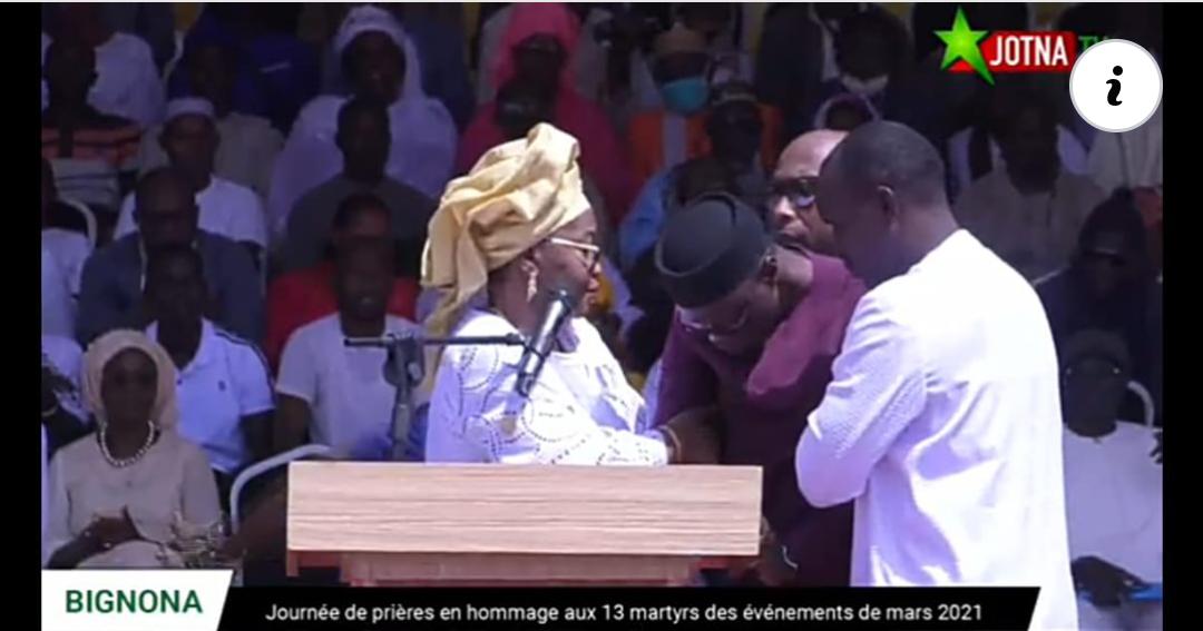 Bignona : Ousmane Sonko pique un malaise et se fait évacuer